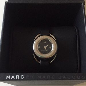 Marc Jerrie Black Dial Ladies Dress Watch